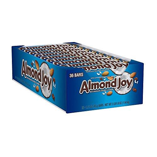 034000003204 - ALMOND JOY Candy Bar, (1.61-Ounce Bar, Pack of 36) carousel main 5