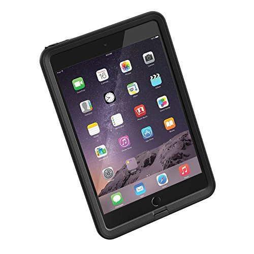 LifeProof FRE iPad Mini/Mini 2/Mini 3 Waterproof Case - Retail Packaging - BLACK