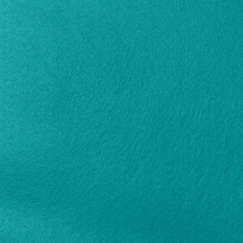 (Aqua Felt Fabric - By the Yard)