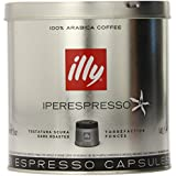 illy iperEspresso Capsules Dark Roasted Coffee, 5-Ounce, 21-Count Capsules