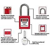 TRADESAFE Lockout Tagout Kit with Loto Locks for