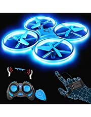 $39 » Snaptaⅰn SP300 Mini Drone, Hand Operated RC Quadcopter w/Throw'n Go, Multiple Remote Controls, G-Sensor Mode, 3D Flips, Altitude Hold, Headless Mode, Speed Adjustment, One Key Return