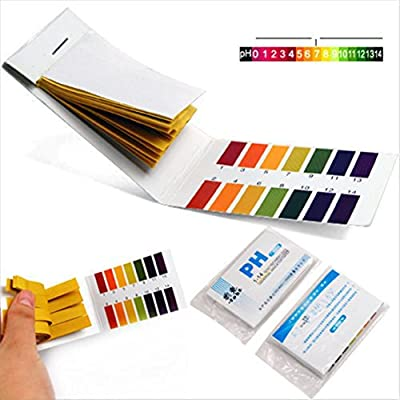 160x Test Blameless Popular pH Tester Strips Acid Indicator Alkaline Laboratory with Color Chart