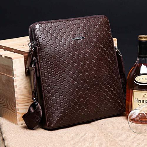 Brown Sac Bandoulière Pour À Homme Bag Taille Cloud 25cm Messenger Business Brown couleur 7dSqwHxE