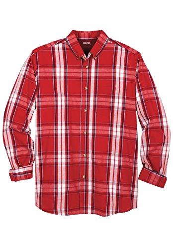 Big And Tall Long Sleeve Sport Shirt - 9