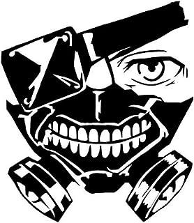 956e1455e14 KyokoVinyl Tokyo Ghoul - Kaneki Mask Anime Decal Sticker for Car/Truck/Laptop  (