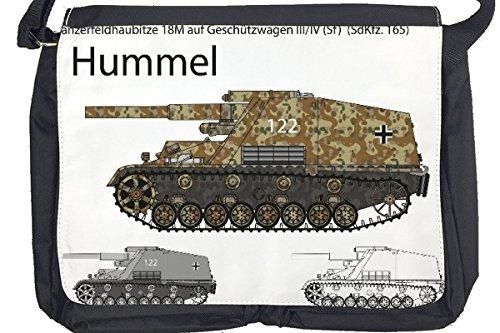 Borsa Tracolla Militare Serbatoio Hummel Stampato