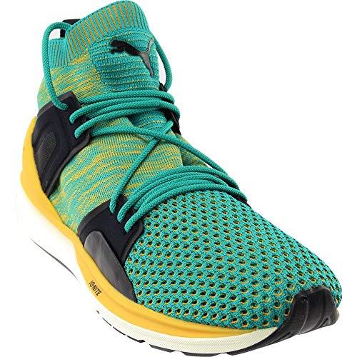 PUMA Select Men's Blaze of Glory Limitless High Evoknit Sneakers, Navigate, 10 D(M) US