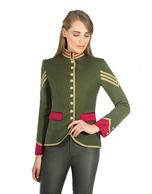 Blazer mujer militar