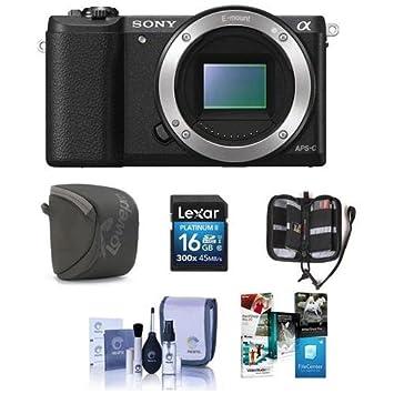 Amazon.com: Sony Alpha a5100 sin espejo cuerpo de la cámara ...