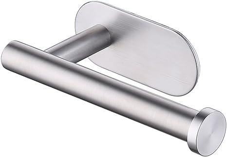 Toilettenpapierhalter WC Klopapierhalter Ohne Bohren Edelstahl Klorollenhalter