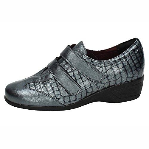 separation shoes 09c95 58295 MADE IN SPAIN , Damen Mokassins Grau