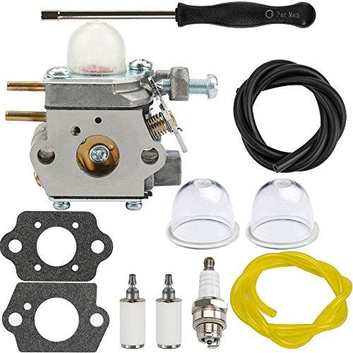 (Dalom BC280 Carburetor w Fuel Filter Primer Bulb for Cub Cadet BC210 CC212 CS202 SS270 Trimmer Weed Eater Yard Machines Y25 Y60 Y2500 Y2550EC Y2700EC Y2900EC Brushcutter YM21CS YM71SS)