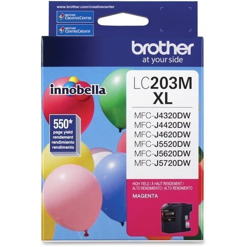 Consumer Inkjet Ink (Brother International Corporat Innobella High Yield (Xl Series) Magenta Ink Cartridge - By
