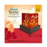 Febreze Home Collections Cranberry Pear Flameless Luminary Refill-Limited Edition, 2-Count Boxes (Pack of 3)