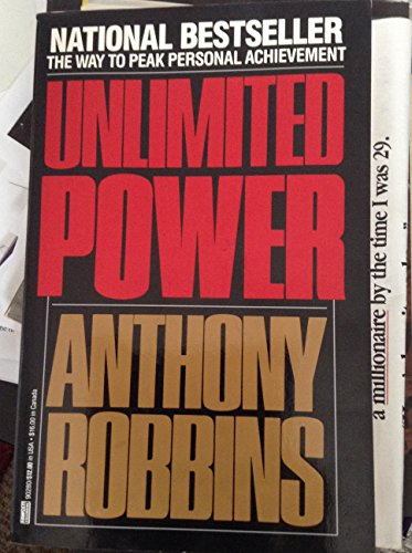 Download Unlimited Power Anthony Robbins Paperback National