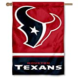 Houston Texans Two Sided House Flag
