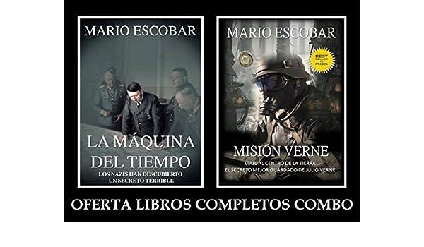 Misión Verne y La Máquina del Tiempo (Combo) eBook: Mario Escobar: Amazon.es: Tienda Kindle