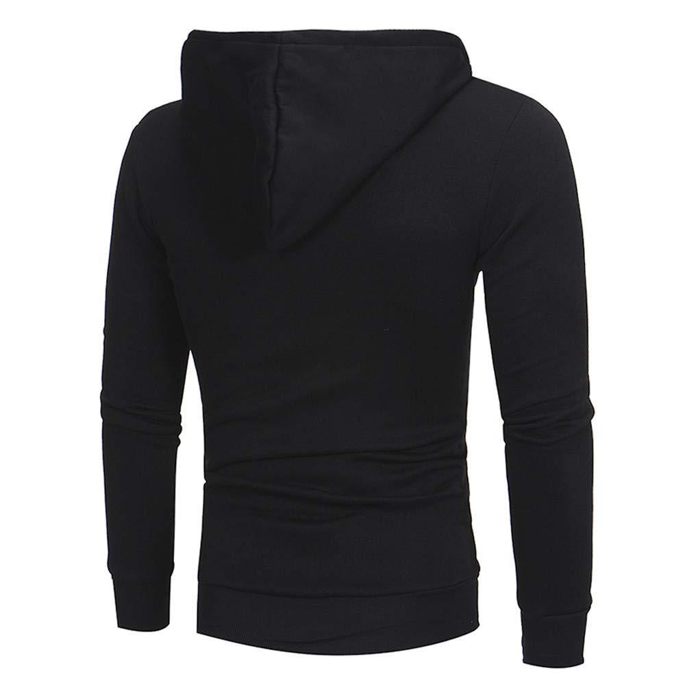 27b88ca55 GOVOW Plaid Shirt Men Autumn Long Sleeve Hoodie Hooded Sweatshirt Tops Jacket  Coat Outwear at Amazon Men's Clothing store: