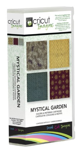 - Cricut Imagine Cartridge, Mystical Garden