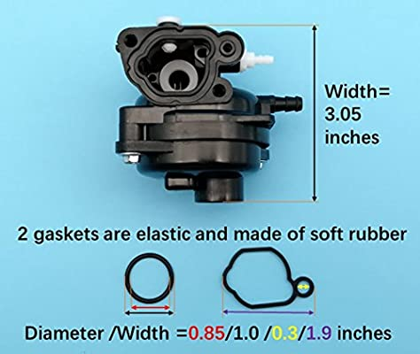 Amazon.com : Tuzliufi Carburetor Carb Replace Briggs ...
