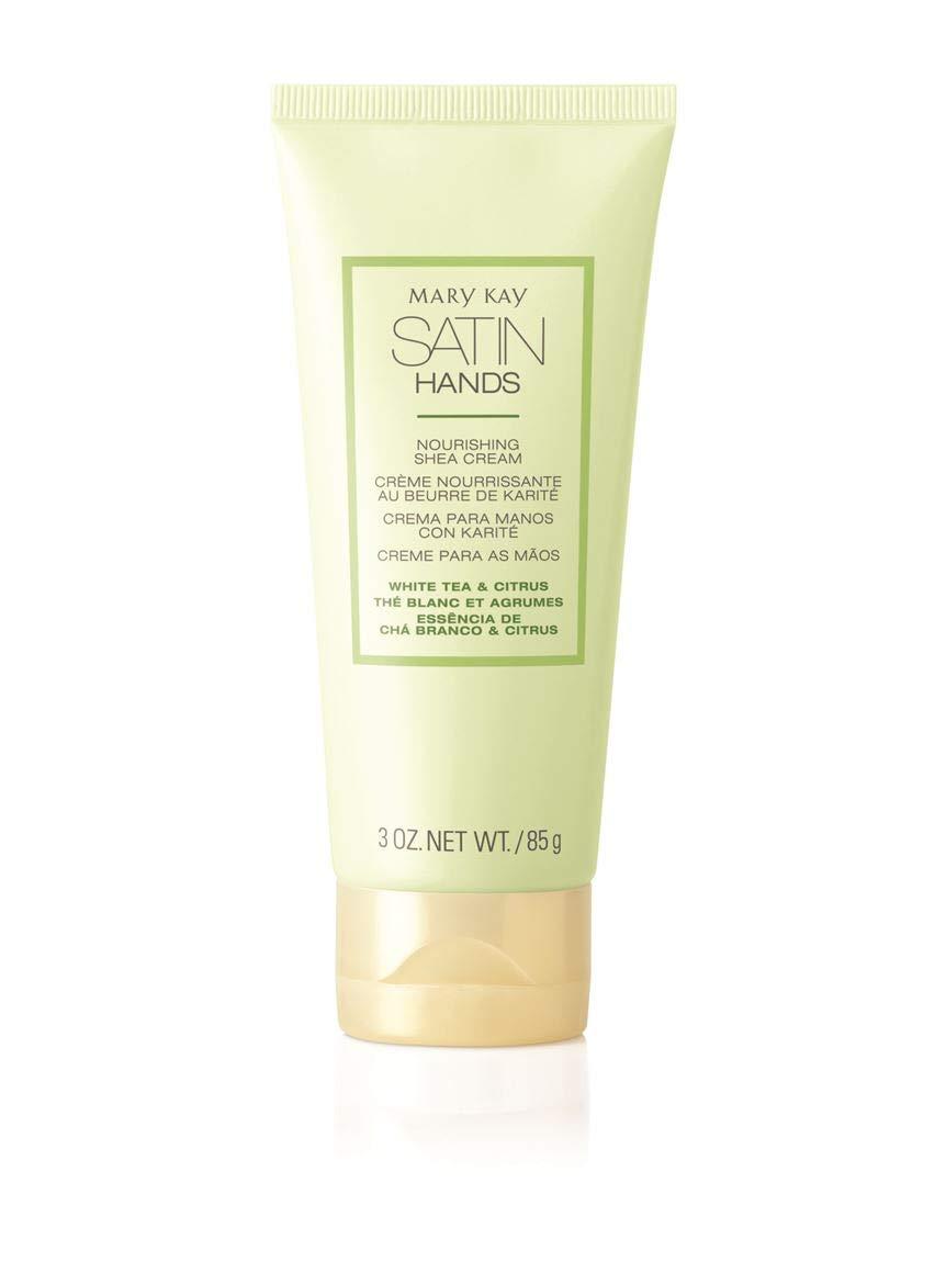 Mary Kay Satin Hands Nourishing Shea Cream 3 oz. Net Wt / 85 g - White Tea & Citrus