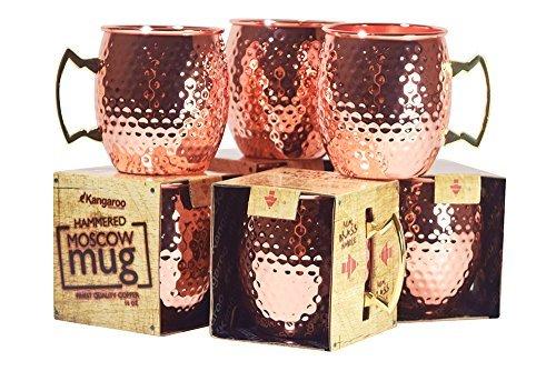Kangaroo 4-Piece Mule Mug, 16 oz by Kangaroo