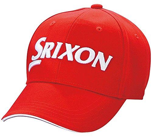 パブ広げるシーズンDUNLOP(ダンロップ) SRIXON キャップ  SMH6137 レッド