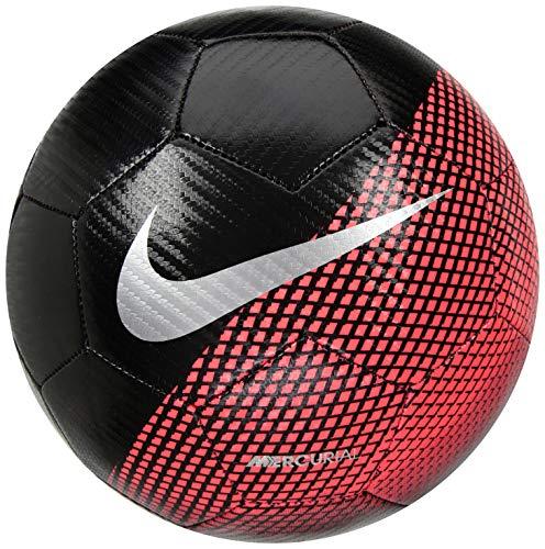 Nike CR7NK Prstg Ball Line Cristiano Ronaldo, Unisex Adult, Unisex-Adult, SC3370, Black (Black/Flash Crimson/Silver), -
