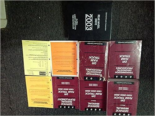 2003 dodge ram factory service manual
