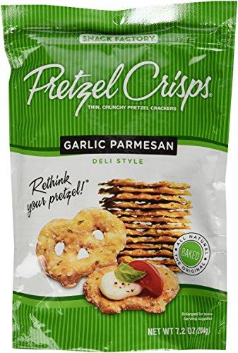 Snack Factory Pretzel Crisp - Pretzel Garlic