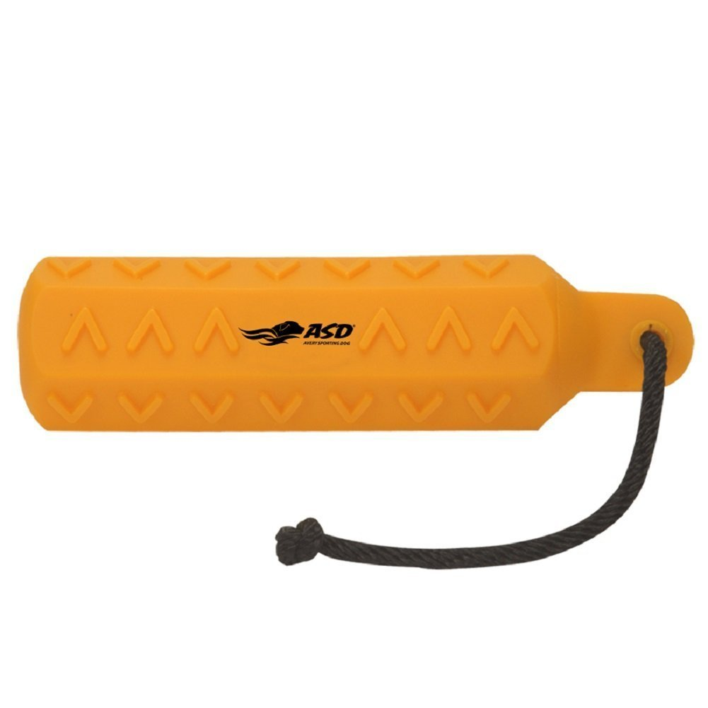Avery Sporting Dog 3in HexaBumper Trainer,Orange