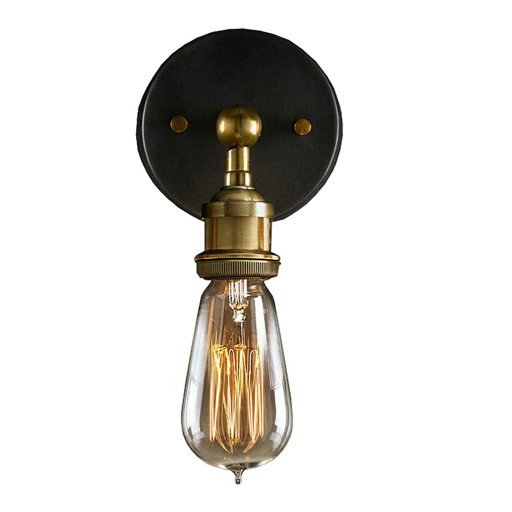 EFINEHOME Efine Minimalist Antique Single Socket 1 Light Industrial Edison Mini Simplicity Wall Sconces Adjustable