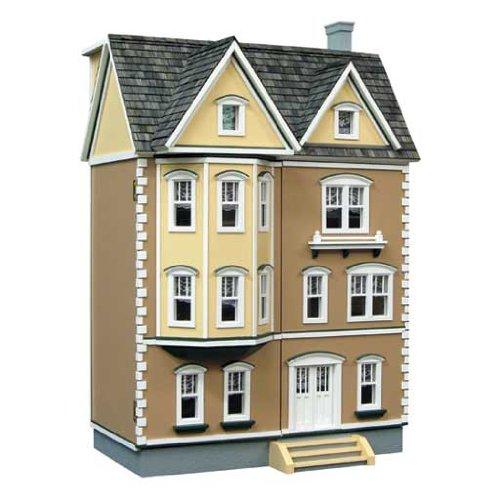 - Dollhouse Miniature 1/24 Scale East Side Townhouse Dollhouse