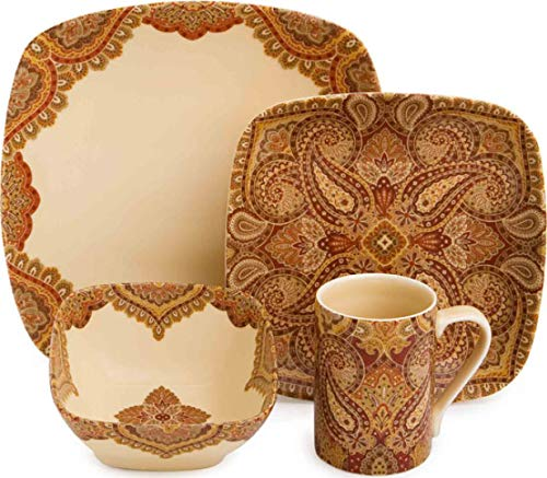 222 Fifth Spice Road 16-Piece Dinnerware Set ()