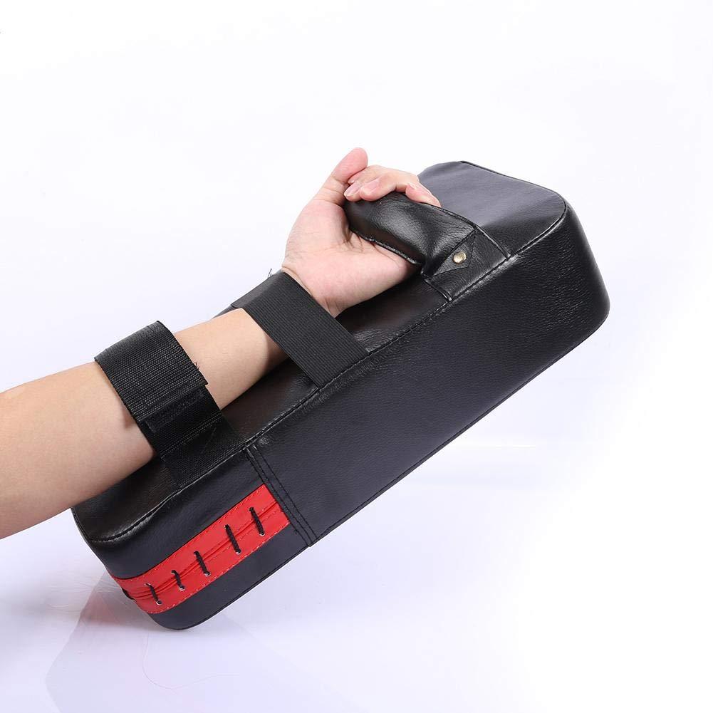 vanpower Taekwondo Hand-Target 390x195x90mm//15.35x7.68x3.54in Red Rectangle PU Boxing Pad Power Punch Bag Bras Shield Training Equipment