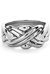 Puzzle Ring in Sterling Silver 6SU