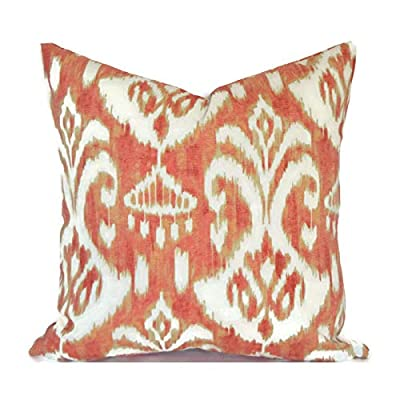 Flowershave357 Outdoor Pillows Outdoor Cushions Outdoor Pillow Covers Decorative Pillows Outdoor Cushion Covers Euro Pillow Rivoli Coral: Kitchen & Dining