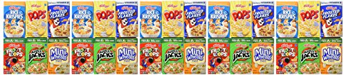 Review Kellogg's Breakfast Cereal Assortment