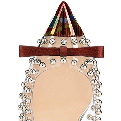 Pompe A Spillo Da 4 Tacchi Scarpe Sfera Donne Moda Ornamento Fsj Oliva Trasparenti Noi 15 Size Le Abito Per rxAPgrwqv