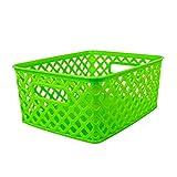 Romanoff (3 Ea) Small Lime Woven Basket