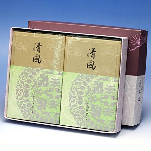 京線香 清風(せいふう)バラ詰2個セット B01HNL0RH4