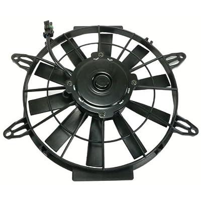 Db Electrical Rfm0004 Radiator Cooling Fan Motor Assembly For Polaris Atv,Sportsman 400 450,2410383, 99-2144, Va55-Ap12/Cwp-54A,Sportsman 500 Ho Efi 2004 2005 2006 2007 2008-2011