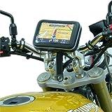 """IPX4 Moto Étanche / Vélo Verrouillage Bracelet Support Guidon pour 6"""" XXL Grand-écran Sat Nav / GPS Appareils"""