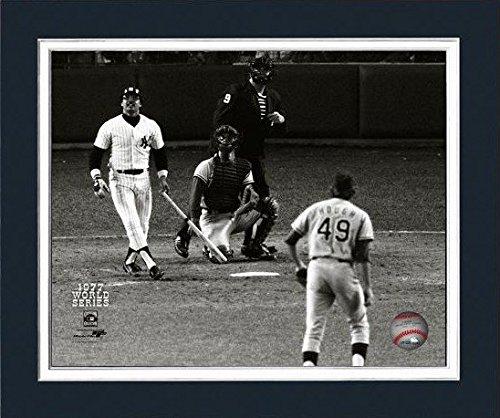 Reggie Jackson New York Yankees 1977 World Series Photo (Size: 11