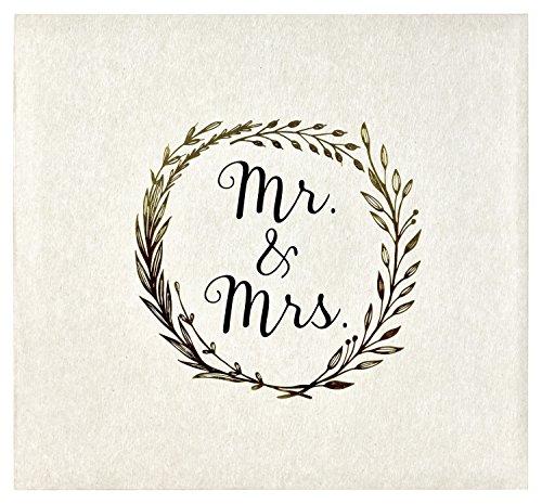 MCS Mrs. Photo Album, 13.5 x 12.5, Ivory - Jackets Photo Album