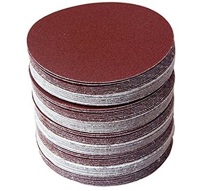 10pcs pegajoso disco de lija del disco de la tirada 125m m para los accesorios de la herramienta de la amoladora de /ángulo 1PC M14 125m m Disco de pulido discos