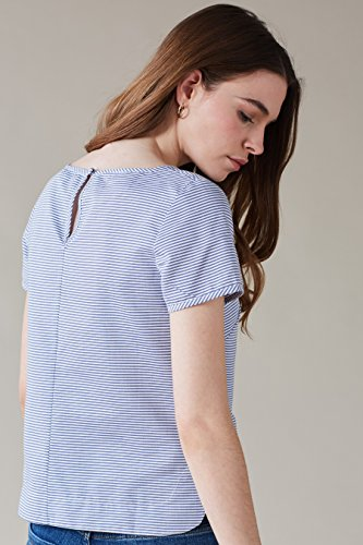 Blau Blau T AND Kleid Shirt Damen EMILY FIN OfPx6
