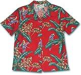 Jungle Bird Women's Hawaiian Aloha Cotton Shirt - Magnum P.I. / Tom Selleck