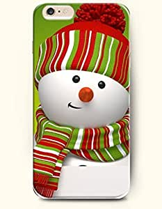 SevenArc New Apple iPhone 6 ( 4.7 Inches) Hard Case Cover - Snowman Pouts
